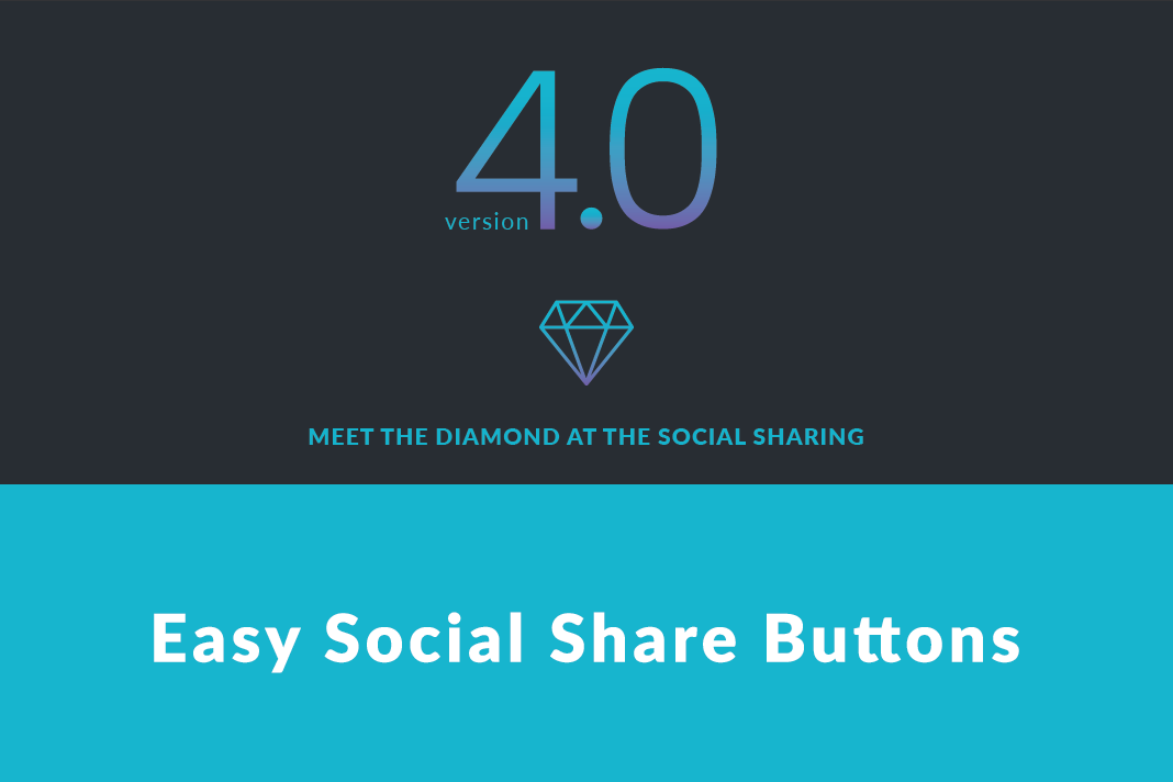 Easy Social Share Buttons ver. 4.0